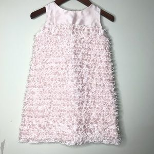 Us Angels Sz 4T Ruffle Pink Dress Formal